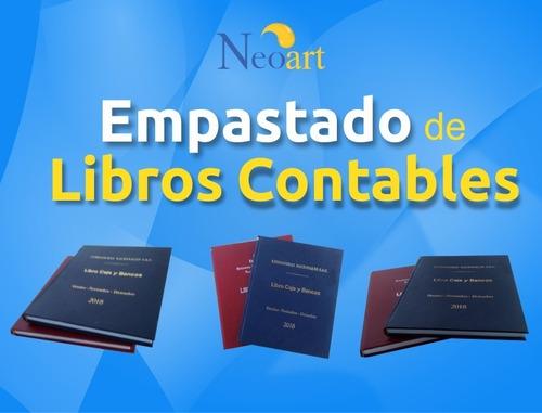 Imagen 1 de 2 de Empastados De Libros Contables , Revistas Entre Otros