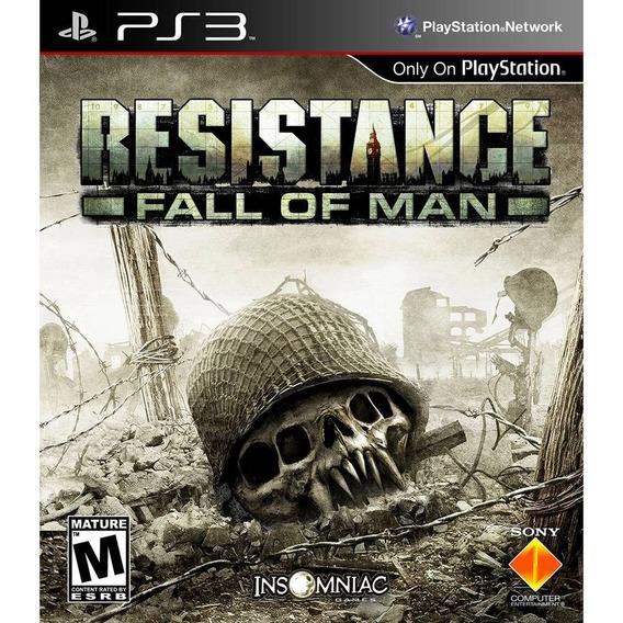 Resistance: Fall Of Man Ps3 Original