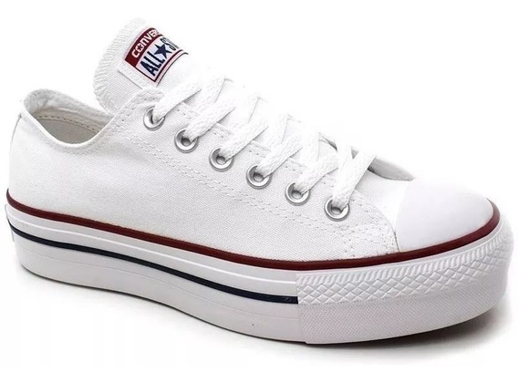 Tênis Converse All Star Plataforma Branco