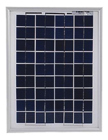 Panel Solar Policristalino 10 Watts 12v
