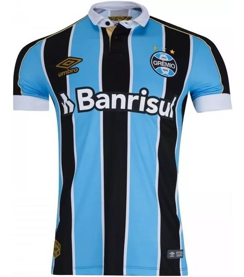 Camisa Grêmio 2019/2020 Lançamento Umbro Personalizada 10457