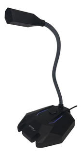 Microfono Ultragamer Retroiluminado Flexible Zoom Skype