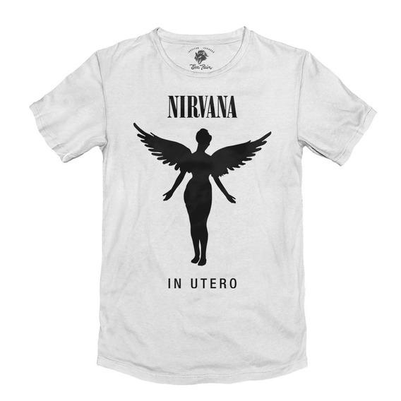 Remera Kurt Cobain Nirvana Rock Algodón Peinado 24/1 Premium