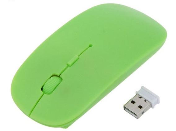 Mouse Slim Portatil Bluetooth 3.0 1600 Dpi Windows E Mac