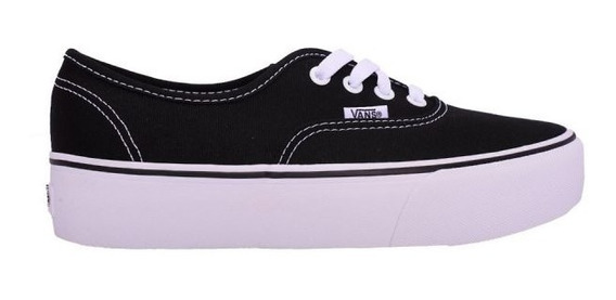 Zapatillas Vans Authentic Platfor - Vn0a3av8blk - Tripstore