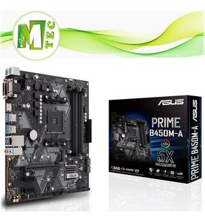 Mtec Asus Prime B450m-a Mainboard Placa Madre Am4 Amd Ryzen