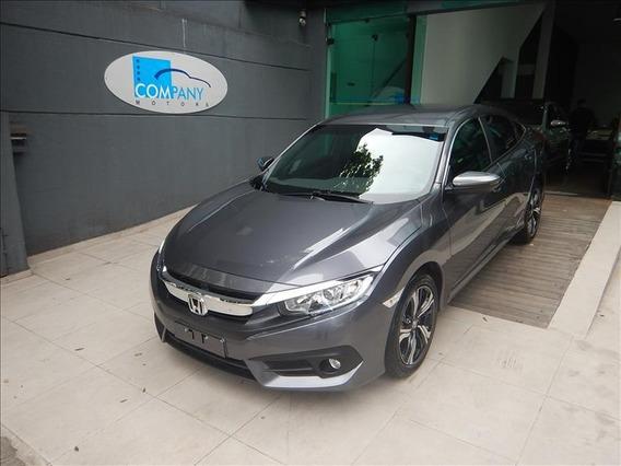 Honda Civic Civic Ex 2.0 Flexone 18 Cinza Única Dona