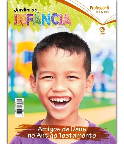 Revista Jardim De Infância 2°trimestre 2020 Professor - Cpad
