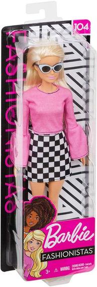 Barbie Fashionistas Loira 104 Lançamento 2019