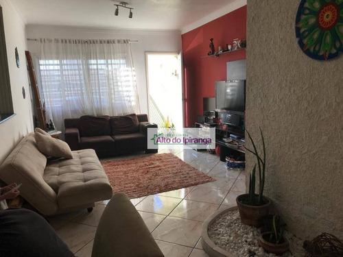 Imagem 1 de 24 de Sobrado Com 3 Dormitórios À Venda, 100 M²  - Sacomã - São Paulo/sp - So1033