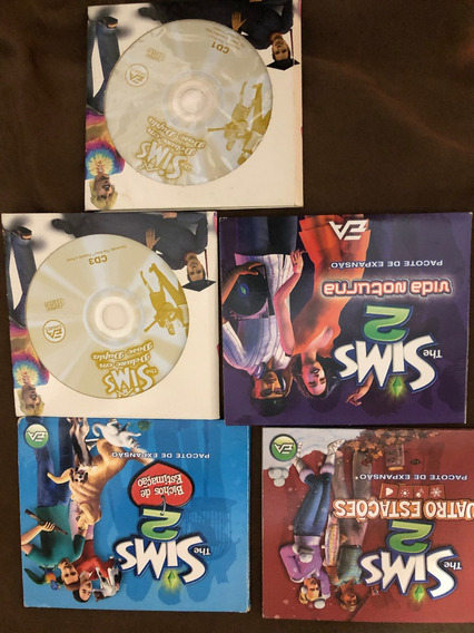 The Sims,bichos Estimação,4 Estações,vida Noturna,dose Dupla