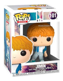 Funko Pop Bts Jimin 101 Original Scarlet Kids Rocks