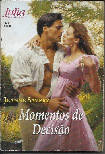 Livro Romance Julia Nº 1497 - Momentos De Decisão