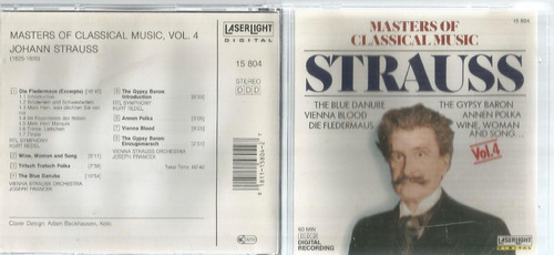 Cd Strauss Masters Of Classical Music Bonellihq Cx45 E19