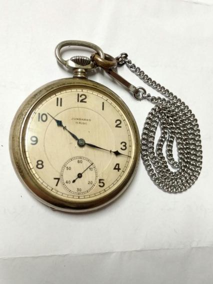 Relógio De Bolso Junghans