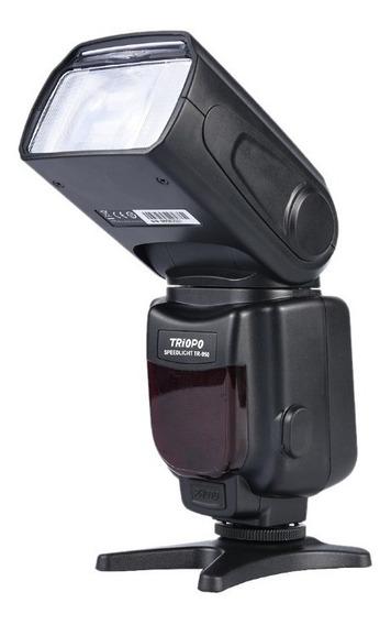 Flash Universal Triopo Tr-950 Canon Nikon Panasonic Lacrado!