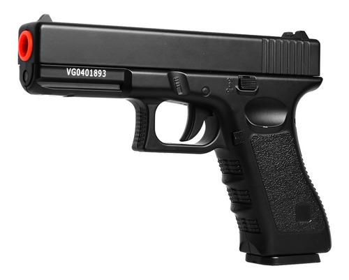 Imagem 1 de 4 de Pistola Airsoft Spring Vigor Glock Gk-v20 Full Metal - 6mm