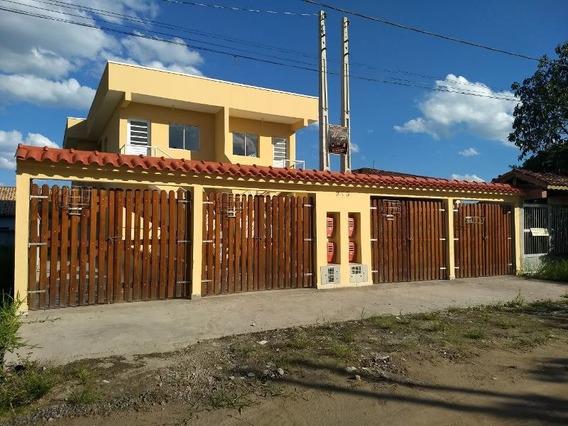 Casa Nova, Sobreposta, Com Suíte, 2 Dorm, Praia, Financia