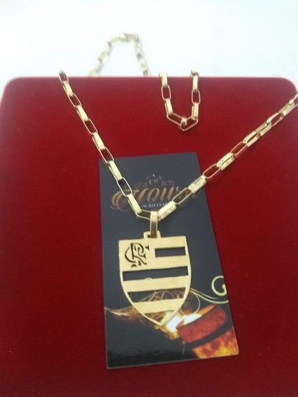 Cartier Prata Banhado A Ouro 18k Flamengo