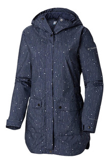 Cortaviento Here And There Trench Jacket Azul Columbia
