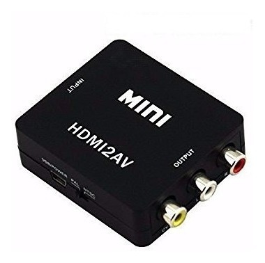 Adaptador Conversor Hdmi A Rca Notebook - Factura A/b
