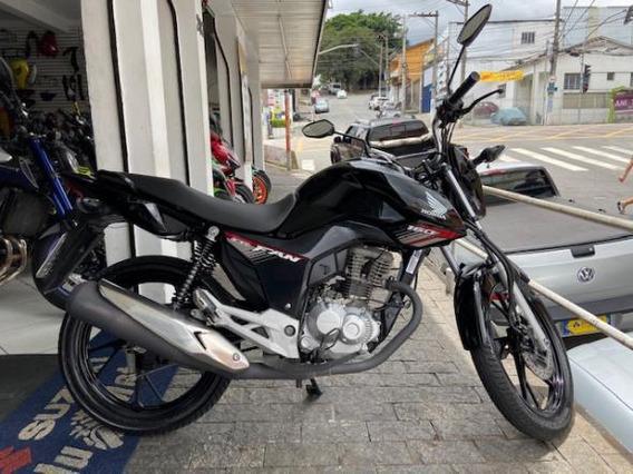 Honda Cg 160 Fan Flex 2019 Igual À Zero!