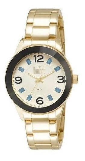 Relógio Dumont Splendore Du2036ltr/4p Dourado
