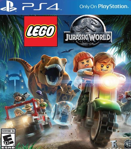 Ps4 Lego Jurassic World O Mundo Dos Dinossauros Psn Original