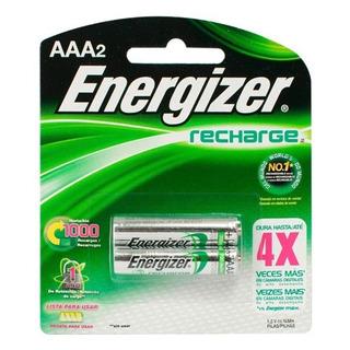 Pilas Aaa Energizer Recargable X 2 Unidades (pilegraaax2)