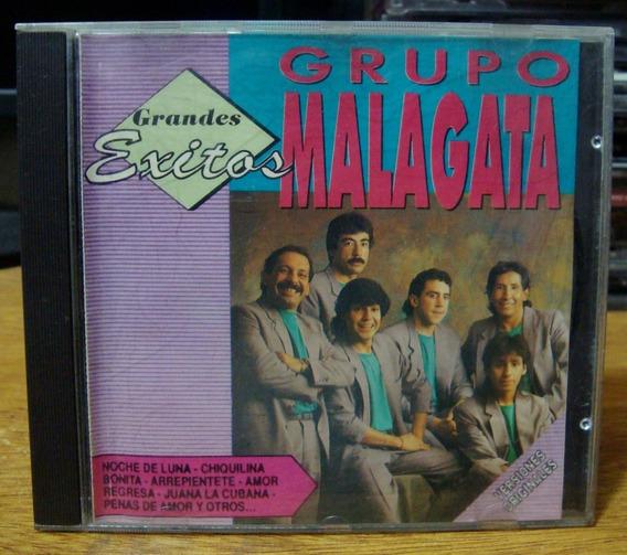 Cd Original Grupo Malagata Grandes Exitos Ed.1992 Cumbia