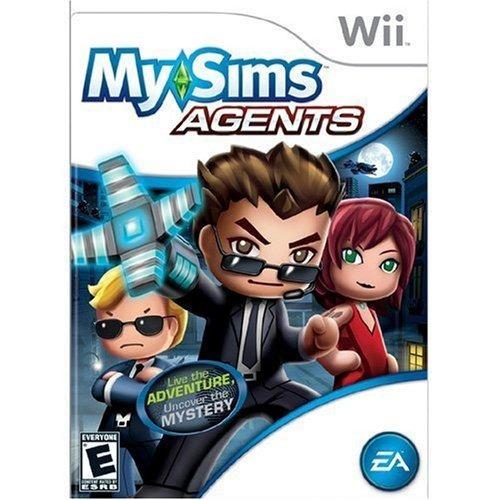 Jogo Para Nintendo Wii My Sims Agents Da Ea Games Lacrado