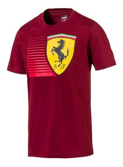 Camiseta Puma Ferrari Big Shield - Original