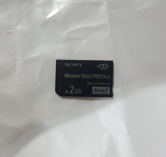 Cartão Sony 2 Gb