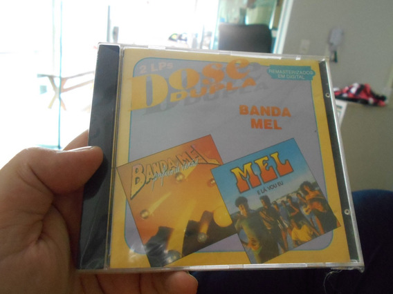 Cd - Banda Mel 2x1 Lp - Novo Plastico