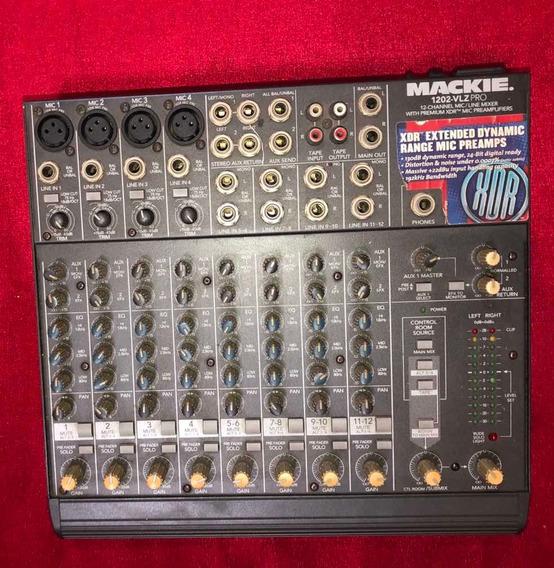 Mesa Maciel 1202 Vlz Pro + Caixas Monitor Audix + Protetor