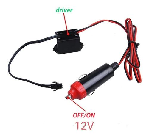 Regulador Driver De 12v Para Tira De Luz Neon