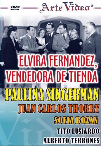 Elvira Fernandez - Paulina Singerman - Dvd Original