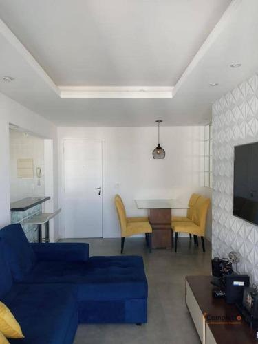 Apartamento À Venda, 63 M² Por R$ 375.000,00 - Camorim - Rio De Janeiro/rj - Ap0365