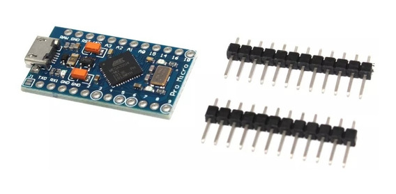 Compatível Arduino Leonardo Pro Micro Atmega32u4 16mhz 5v