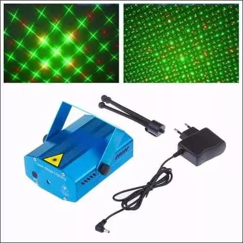 Mini Laser Com Projetor Holografico