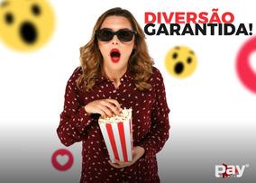 Combo 2 Telas Pay Movie Tv + 1800 Canais Liberados Streaming