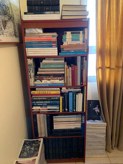 Lote Acervo Biblioteca Arquitetura Livros Revistas - 350 Un.
