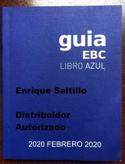 Libro Azul Guia Ebc Agosto 2019 Envio Incluido