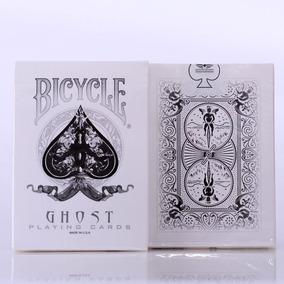 Baralho Ghost White Branco - Ellusionist