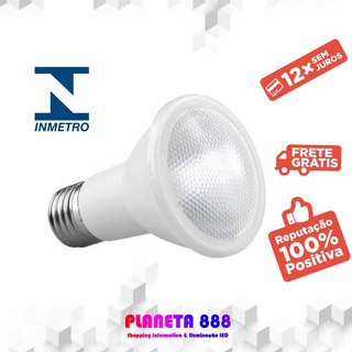 Kit 10 Lampada Led Par20 Saveenergy 7w Branco Frio Quente