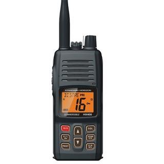 Estándar Horizon Handheld Radio Vhf Marine Negro