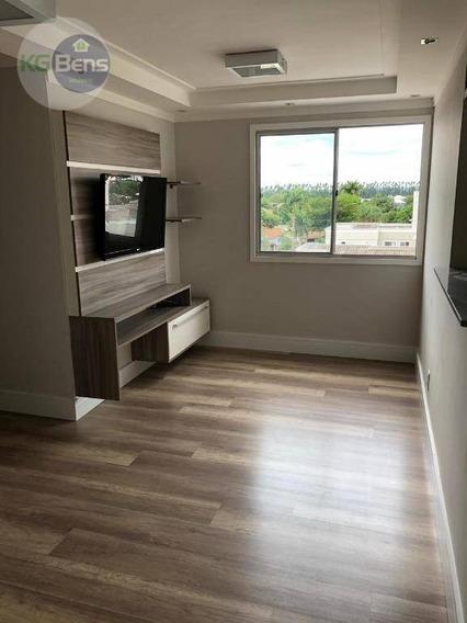 Apartamento Com 3 Dormitórios À Venda, 62 M² Por R$ 320.000 - Ap0080