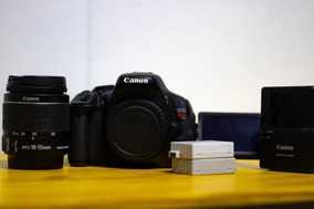 Canon T3i + Lente 18-55mm (foto & Vídeo) Full Hd