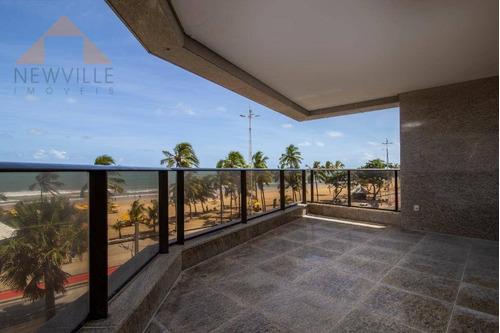 Apartamento Com 4 Quartos À Venda, 303 M² Por R$ 5.200.000 - Boa Viagem - Recife/pe - Ap2383