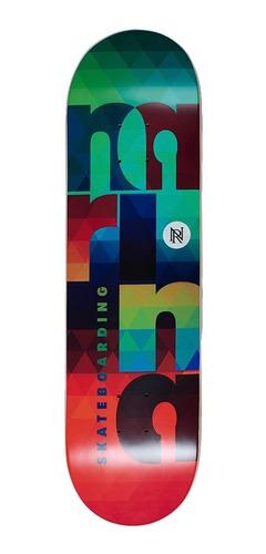 Imagem 1 de 1 de Shape Skate Narina Colors 8.0 Fiberglass Profissional